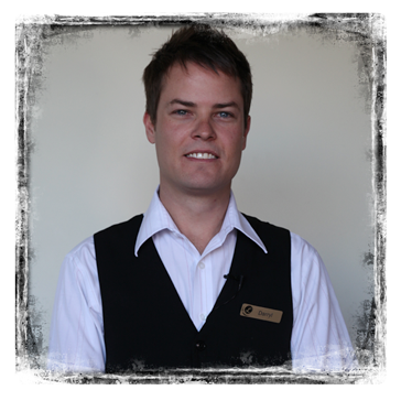 Photo of Hospitality Student
