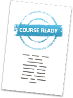 Course readiness certificate